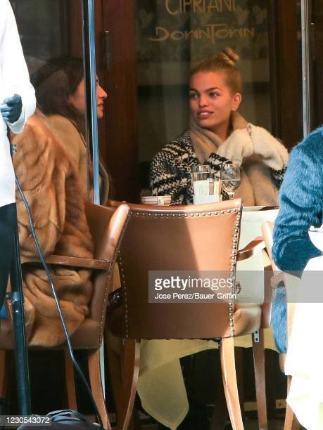 Daphne Groeneveld is seen on January 11, 2021 in New York City.