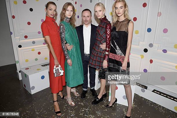 Daphne Groeneveld Julie Hoomans Peter Philips Jessie Bloemendaal and Maartje Verhoef attend Dior Beauty celebrates The Art of Color with Peter...