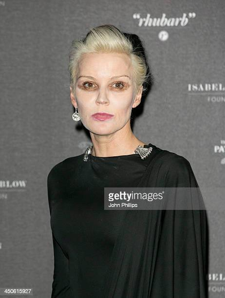 Daphne Guinness attends Isabella Blow Fashion Galore at Somerset House on November 19 2013 in London England