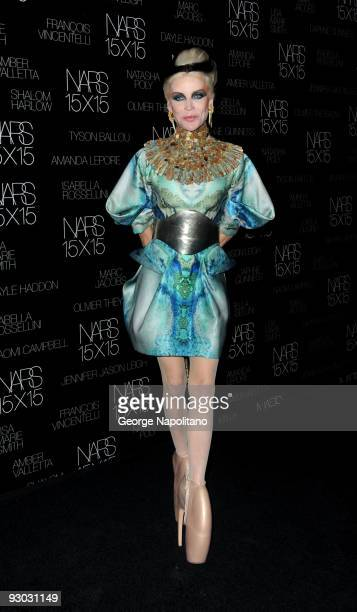 Daphne Guinness attends The Launch Of 15X15 A Project To Celebrate 15 Years of NARS at Industria Superstudio on November 12, 2009 in New York City.