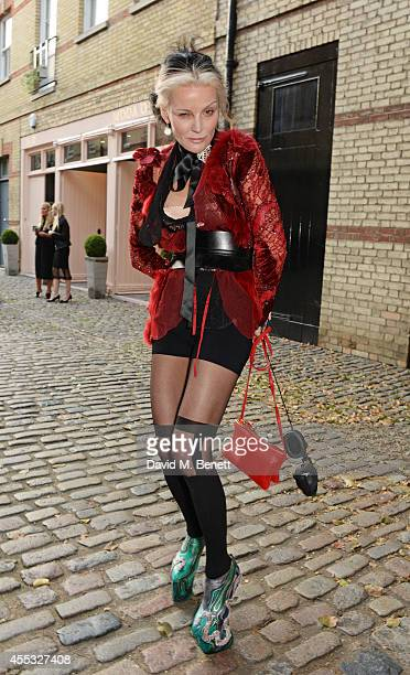 Daphne Guinness attends the M'oda 'Operandi launch on September 12 2014 in London England