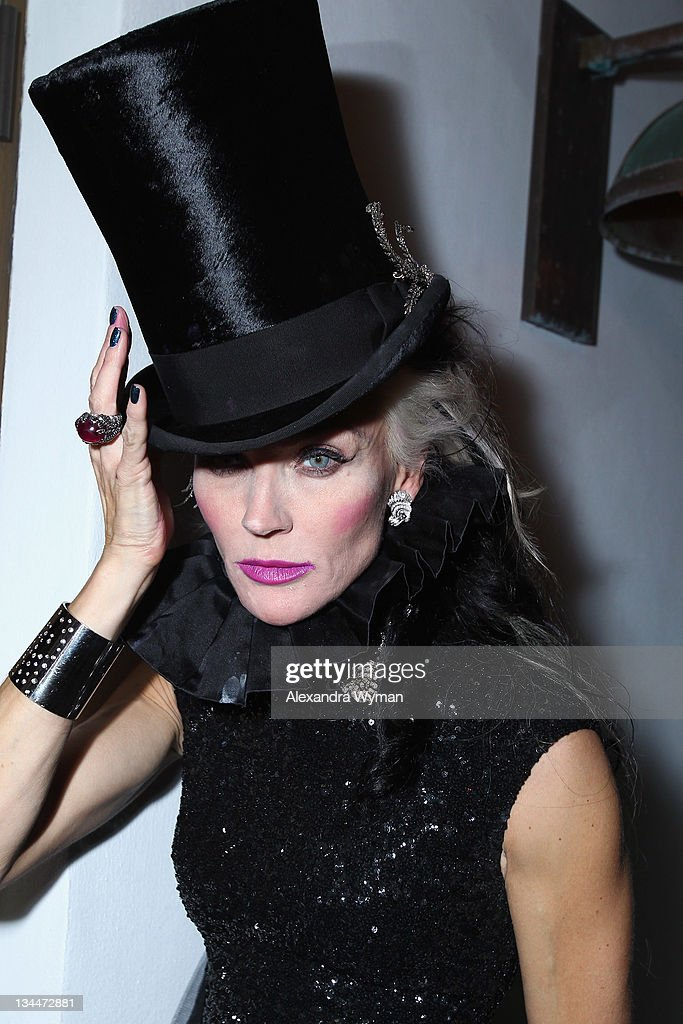 Daphne Guinness attends the Phillips De Pury dinner and dancing hosted by Simon de Pury at Cecconi's Soho Beach House Miami on December 1, 2011 in Miami Beach, Florida.