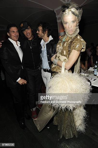 Daphne Guinness attends The PURPLE Fashion Magazine Dinner during MercedesBenz Fashion Week at Kenmare on February 14 2010 in New York City