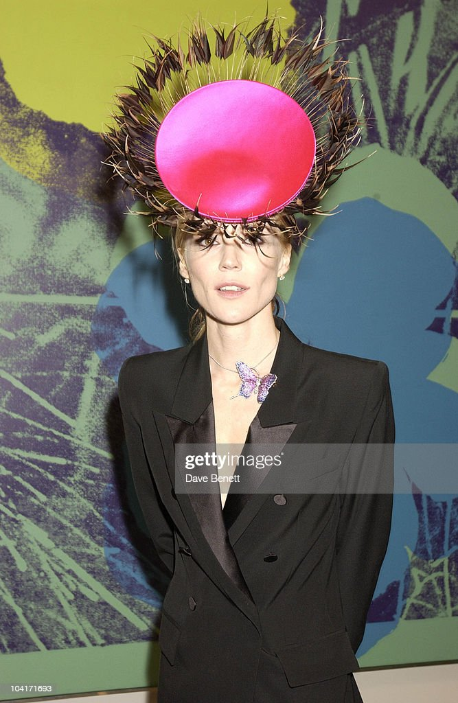 Daphne Guinness, The Andy Warhol Exhibition At The Tate Modern Art Gallery, London