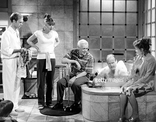 FRASIER Daphne Hates Sherry Episode 20 Pictured John Mahoney as Martin Crane Jane Leeves as Daphne Moon John Mahoney as Martin Crane Kelsey Grammer...