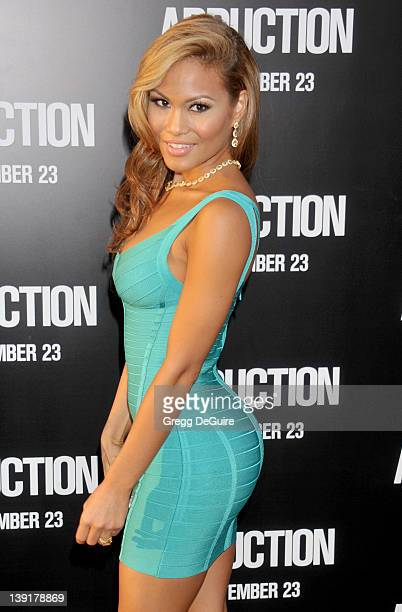 Daphne Joy arrives at the World Premiere of 'Abduction' at the Grauman's Chinese Theatre on September 15 2011 in Hollywood California