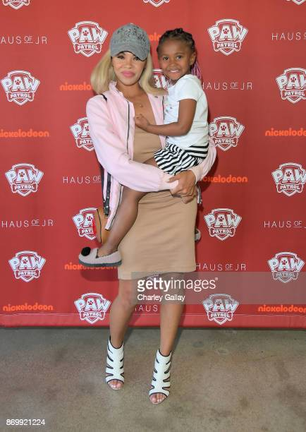 Daphne Joy attends prerelease party and fashion show for Nickelodeon's PAW Patrol collaboration with Haus of JR on October 22 2017 in Los Angeles...