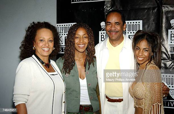 Daphne Maxwell Reid Robi Reed Tim Reid and Tori Reid at the The Harmony Gold Preview House in Hollywood California
