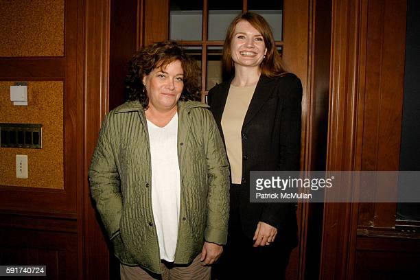 Daphne Merkin and Jeannette Walls attend Great Writers at Barnard at Barnard College on November 6 2005 in New York City