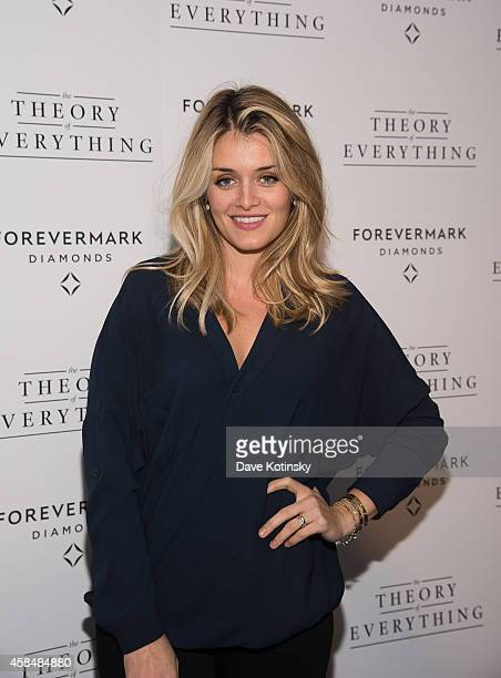 Daphne Oz arrives at the Theory Of Everything New York Screening at Lighthouse International Theater on November 5 2014 in New York City