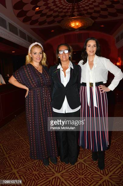 Daphne Oz Christine Schott and Ann Caruso attend American Influencer Association Launch Party Featuring Daphne Oz at The Doubles Club on February 6...