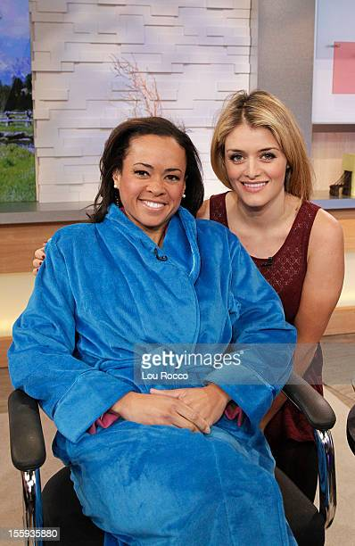 AMERICA Daphne Oz of Walt Disney Television via Getty Images's The Chew appears on Good Morning America 11/9/12 airing on the ABc Television Network...