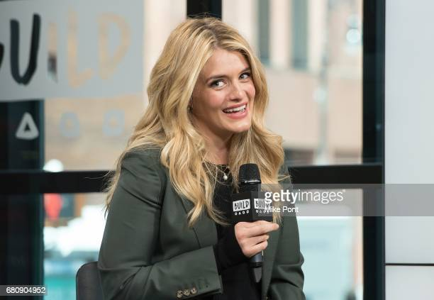Daphne Oz visits Build Studios to discuss the KIND Snacks 'Raise The Bar' Contest at Build Studio on May 9 2017 in New York City