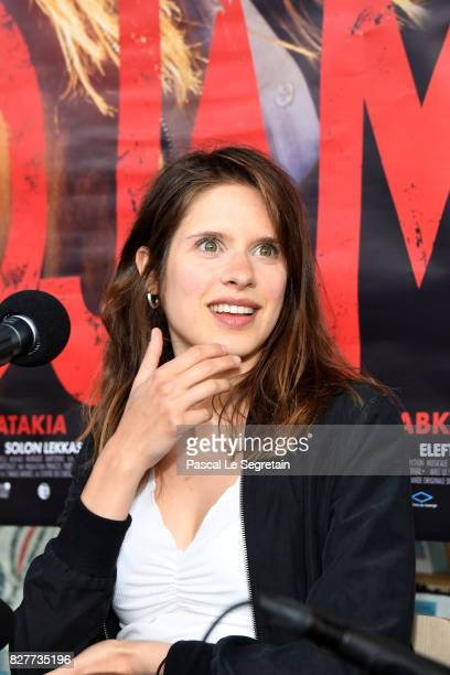 Daphne Patakia attends the Paris Premiere of the film 'Djam' on August 8 2017 in Paris France
