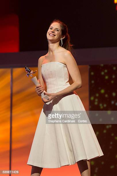 Daphne Patakia during the presentation of the European Shooting Stars 2016 as part of the 66th Berlinale International Film Festival Berlin at...