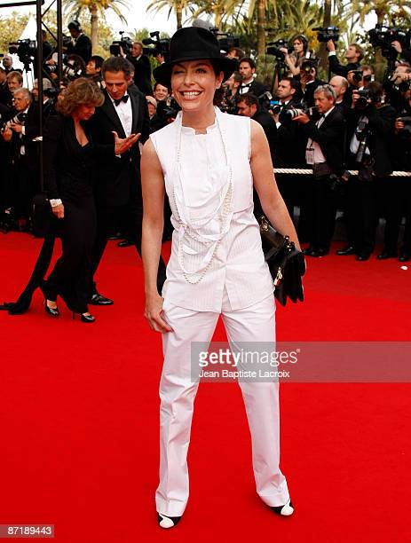 Daphne Roulier attends the 'Up' Premiere at the Palais des Festivals during the 62nd Annual Cannes Film Festival on May 13 2009 in Cannes France