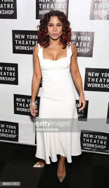 Daphne Rubin Vega attends New York Theatre Workshop's 2017 Spring Gala at the Edison Ballroom on May 15 2017 in New York City