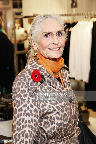 Daphne Selfe attends Other Stories store opening on Kings Road on November 11 2015 in London England