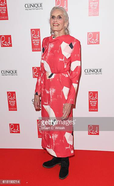 Daphne Selfe attends the Red Women of the year awards at The Skylon on October 17 2016 in London England