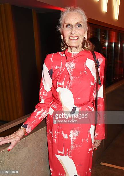 Daphne Selfe attends the Red Women Of The Year Awards in association with Clinique at The Skylon on October 17 2016 in London England