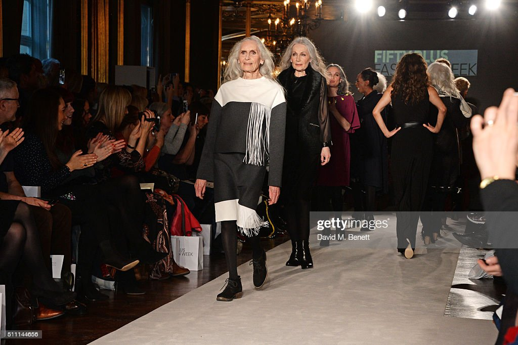 JD Williams Hosts The First Fifty Plus Fashion Week : News Photo