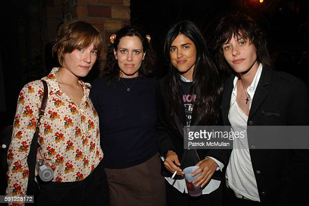 Daphne Tavish Ioni Scott Francesca Gregorini and Kate Manik attend Paper Magazine and Jaguar 2005 to celebrate the 8th Annual Beautiful People Issue...