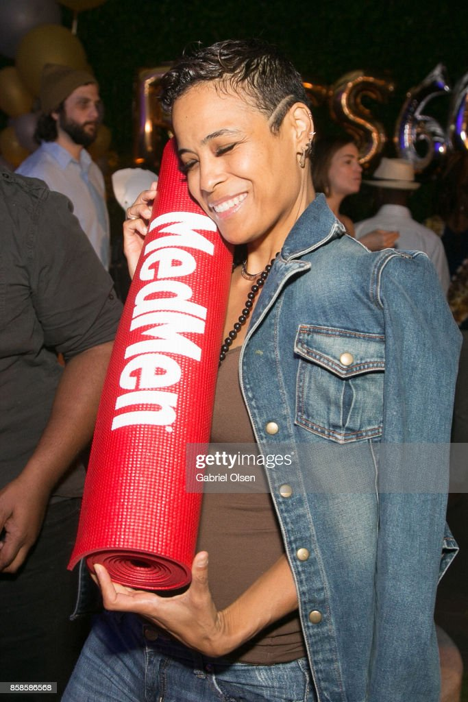 Daphne Wayans attends Russell Simmons' 60th Birthday Party at his Tantris Yoga Center on October 6, 2017 in West Hollywood, California.