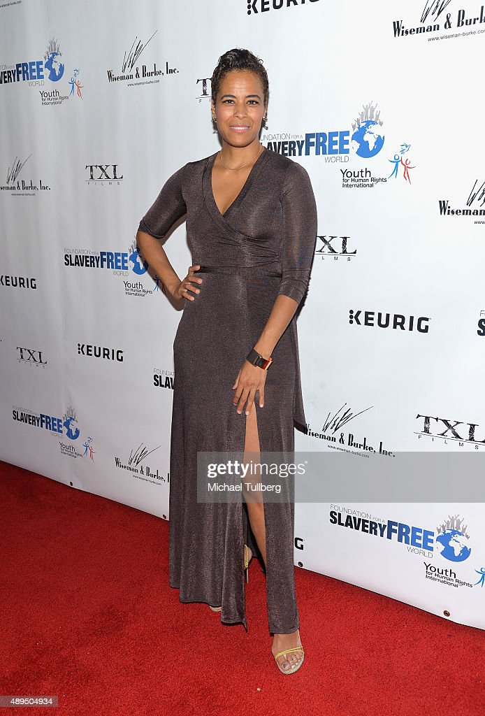 Daphne Wayans attends The Human Rights Hero Awards presented by Marisol Nichols' Foundation for a Slavery Free World and Youth for Human Rights International at Beso on September 21, 2015 in Hollywood, California.