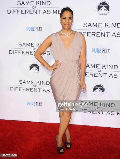 """Daphne Wayans attends the premiere of """"Same Kind of Different as Me"""" at Westwood Village Theatre on October 12, 2017 in Westwood, California."""
