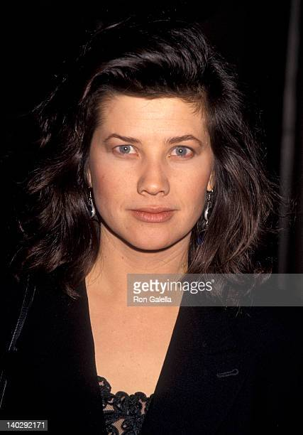 Daphne Zuniga at the Aaron Spelling Christmas Party Beverly Wilshire Hotel