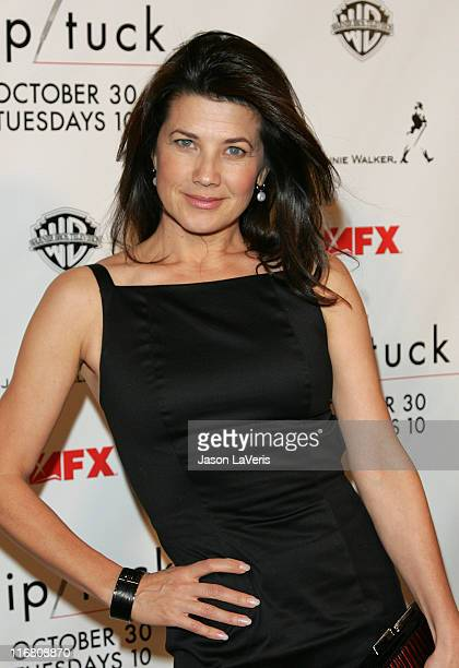 Daphne Zuniga at the Season 5 Premiere of Nip/Tuck on October 20 2007