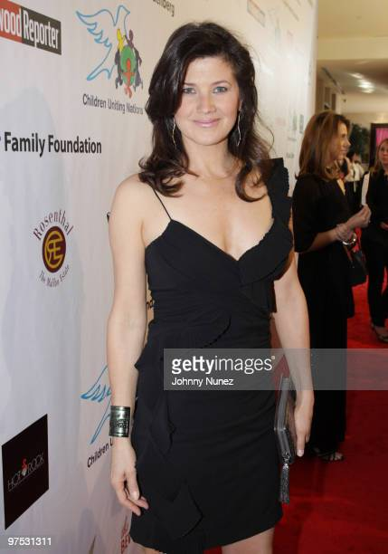 Daphne Zuniga attends 11th Annual Uniting Nations Awards viewing and dinner after party at the Beverly Hilton hotel on March 7 2010 in Beverly Hills...