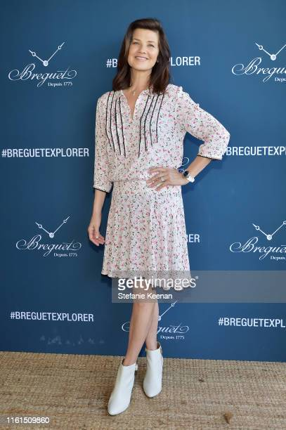 Daphne Zuniga attends Breguet Marine Collection Launch at Little Beach House Malibu on July 11 2019 in Malibu California