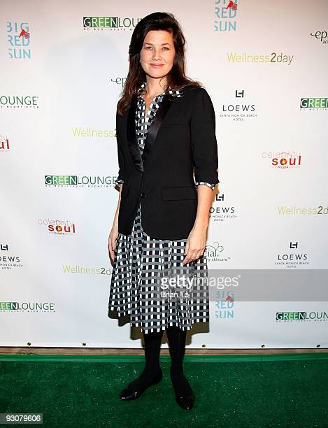 Daphne Zuniga attends Ecoluxurious Green Lounge Event at Loews Santa Monica Hotel on November 15 2009 in Santa Monica California