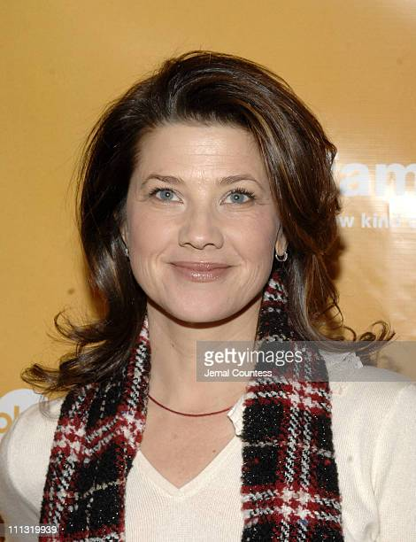 Daphne Zuniga during ABC Family Stars Celebrate the 25 Days of Christmas Winter Wonderland Event at The Rock Center Cafe at Rockefeller Center in New...