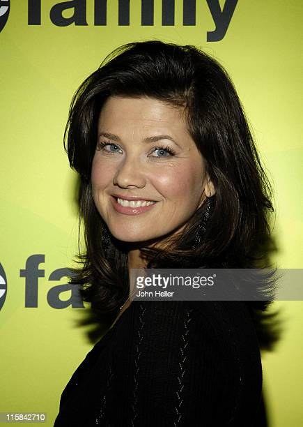 Daphne Zuniga during ABC Family TCA Day 4 at Beverly Hilton in Los Angeles California United States