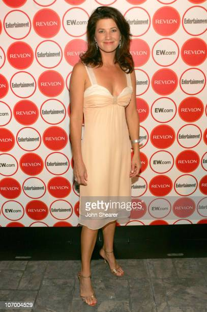 Daphne Zuniga during Entertainment Weekly Magazine 4th Annual Pre-Emmy Party - Inside at Republic in Los Angeles, California, United States.