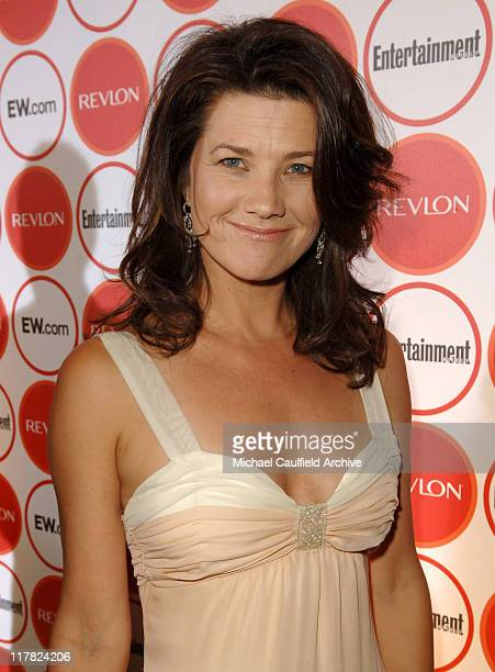 Daphne Zuniga during Entertainment Weekly Magazine 4th Annual PreEmmy Party Red Carpet at Republic in Los Angeles California United States