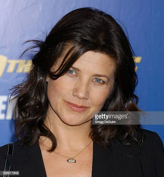 Daphne Zuniga during MGM Pictures and Columbia Pictures Into the Blue Premiere Arrivals at Mann Village Theatre in Westwood California United States
