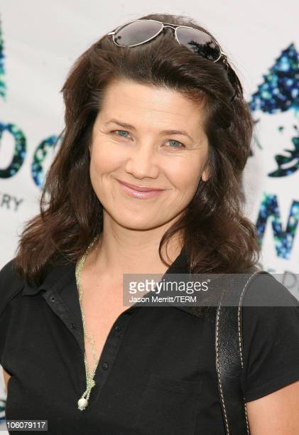 Daphne Zuniga during NRDC's Day Of Discovery Arrivals at Wadsworth Theater Grounds in Brentwood California United States