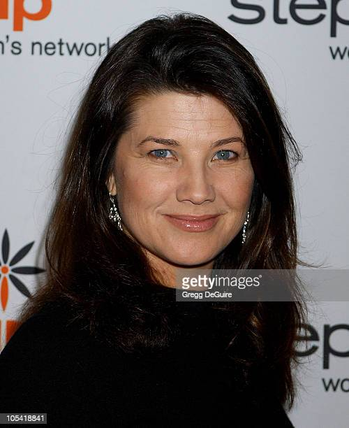 Daphne Zuniga during Step Up Women's Network Inspiration Awards Luncheon Arrivals Awards at Beverly Hilton Hotel in Beverly Hills California United...