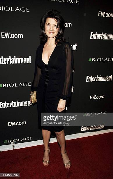 Daphne Zuniga during The 78th Annual Academy Awards Entertainment Weekly New York Viewing Party Arrivals at Elaine's in New York City New York United...