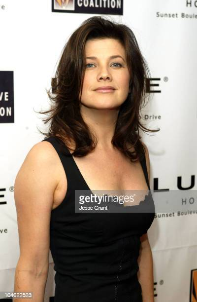Daphne Zuniga during The Creative Coalition 2004 Spotlight Awards and Ultimate Gift Gala at Luxe Hotel in Beverly Hills California United States