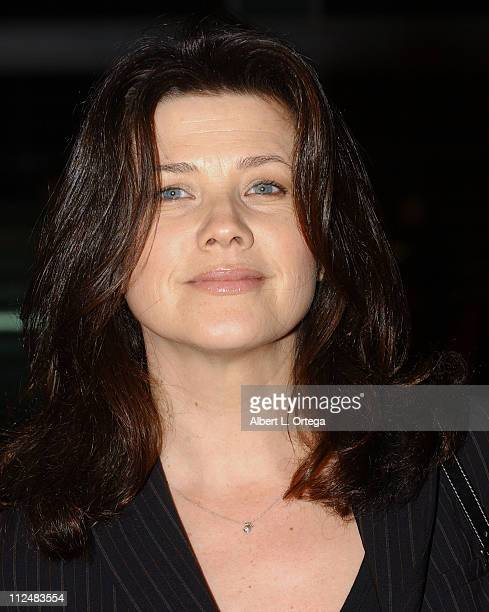 Daphne Zuniga during The Jacket Los Angeles Premiere Arrivals at ArcLight Theater in Hollywood CA United States