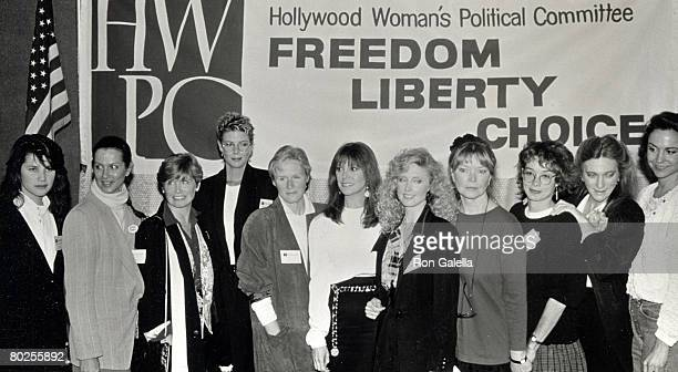 Daphne Zuniga Veronica Hamel Bonnie Franklin Kelly McGillis Glenn Close Marlo Thomas Morgan Fairchild Ellen Burstyn Melanie Mayron Judy Collins and...