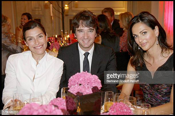 Daphnee Roullier Antoine Arnault and Tasha De Vasconcelos at 'L'Affaire Farewell' Film Premiere And Charity Dinner To Benefit The Claude Pompidou...
