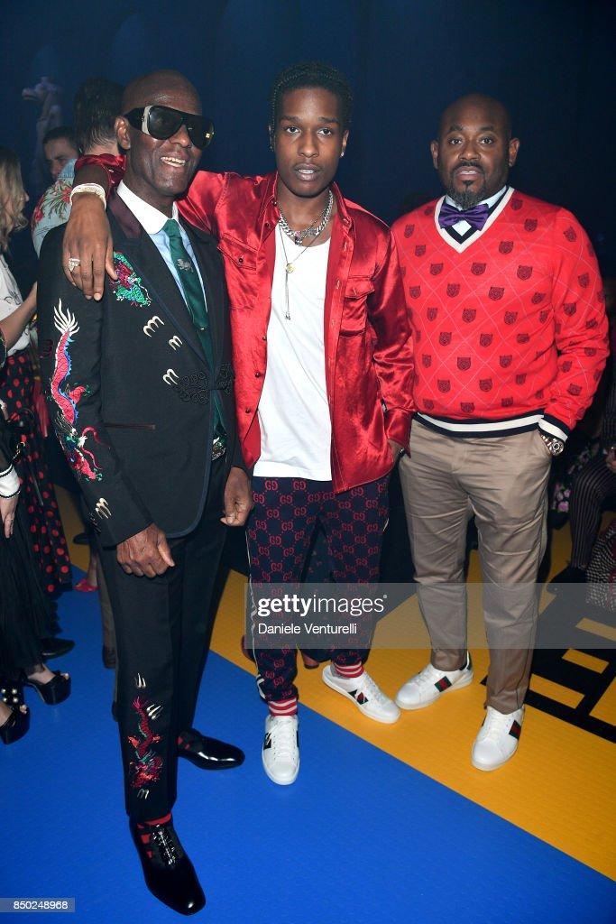 Gucci - Front Row - Milan Fashion Week Spring/Summer 2018 : ニュース写真