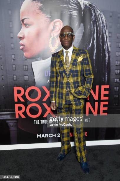 """Dapper Dan attends a special screening of the Netflix film """"Roxanne Roxanne"""" at the SVA Theater on March 19, 2018 in New York City."""