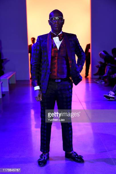 Dapper Dan attends Aliette fashion show during New York Fashion Week The Shows at Gallery II at Spring Studios on September 11 2019 in New York City
