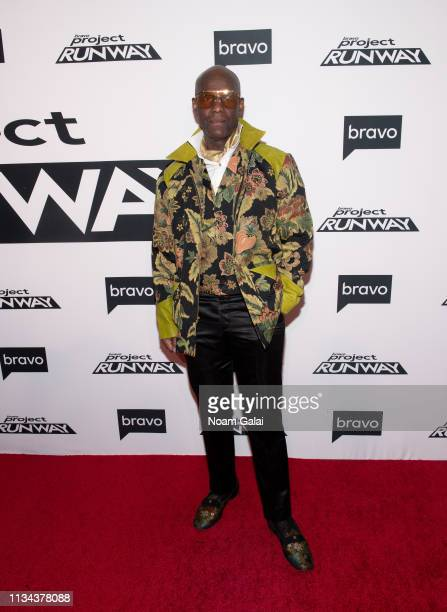 "Dapper Dan attends Bravo's ""Project Runway"" New York Premiere at Vandal on March 07, 2019 in New York City."